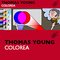 Colorea a Thomas Young